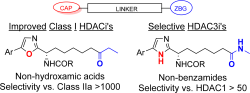 Improved selective class I HDAC and novel selective HDAC3 inhibitors: Beyond hydroxamic acids and benzamides