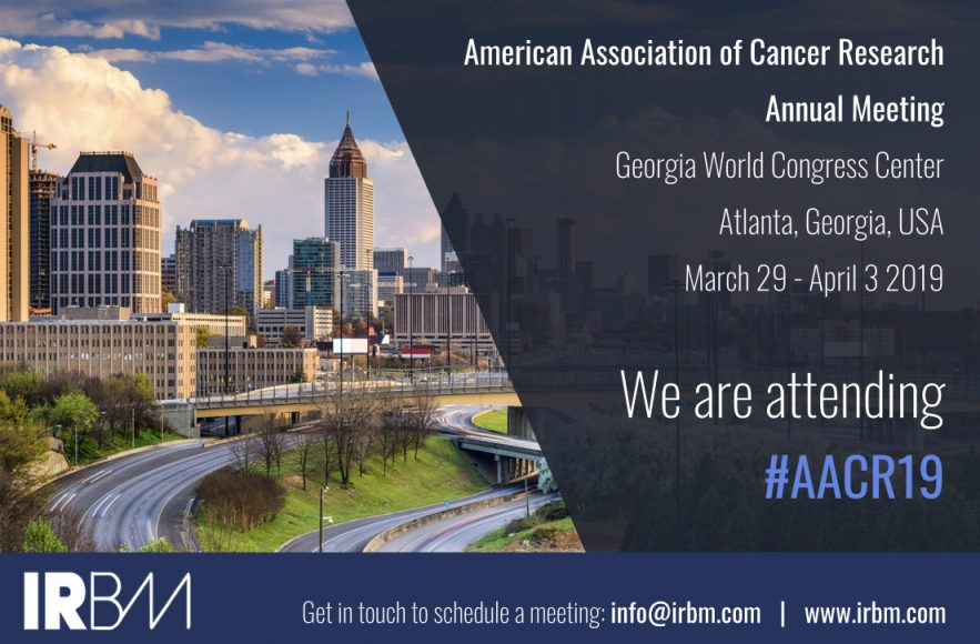 IRBM Is Attending The AACR Annual Meeting 2019
