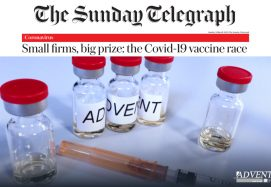 The Covid-19 Vaccine Race (The Sunday Telegraph)
