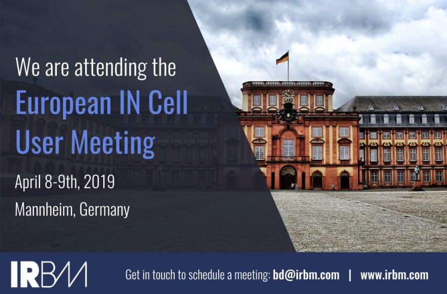 IRBM -European IN Cell User Meeting