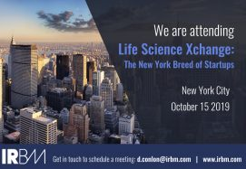IRBM Are Attending Life Science Xchange