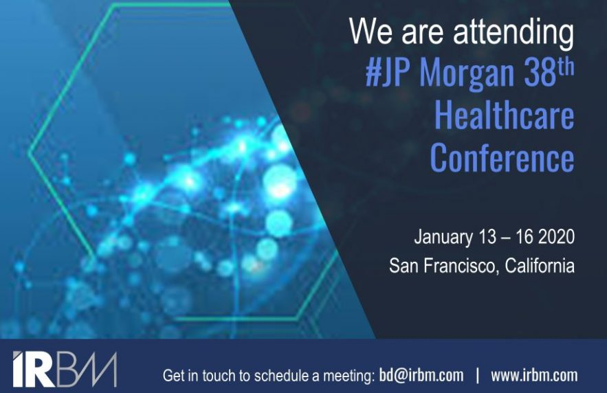 JP Morgan Healthcare Confer