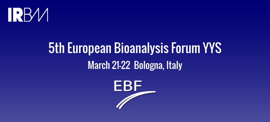 5th European Bioanalysis Forum YYS March 21-22 Bologna, Italy